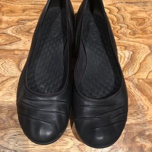 Privo by Clarks black leather shoes sz 10